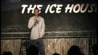 Black Comic On Asian Comedy Night