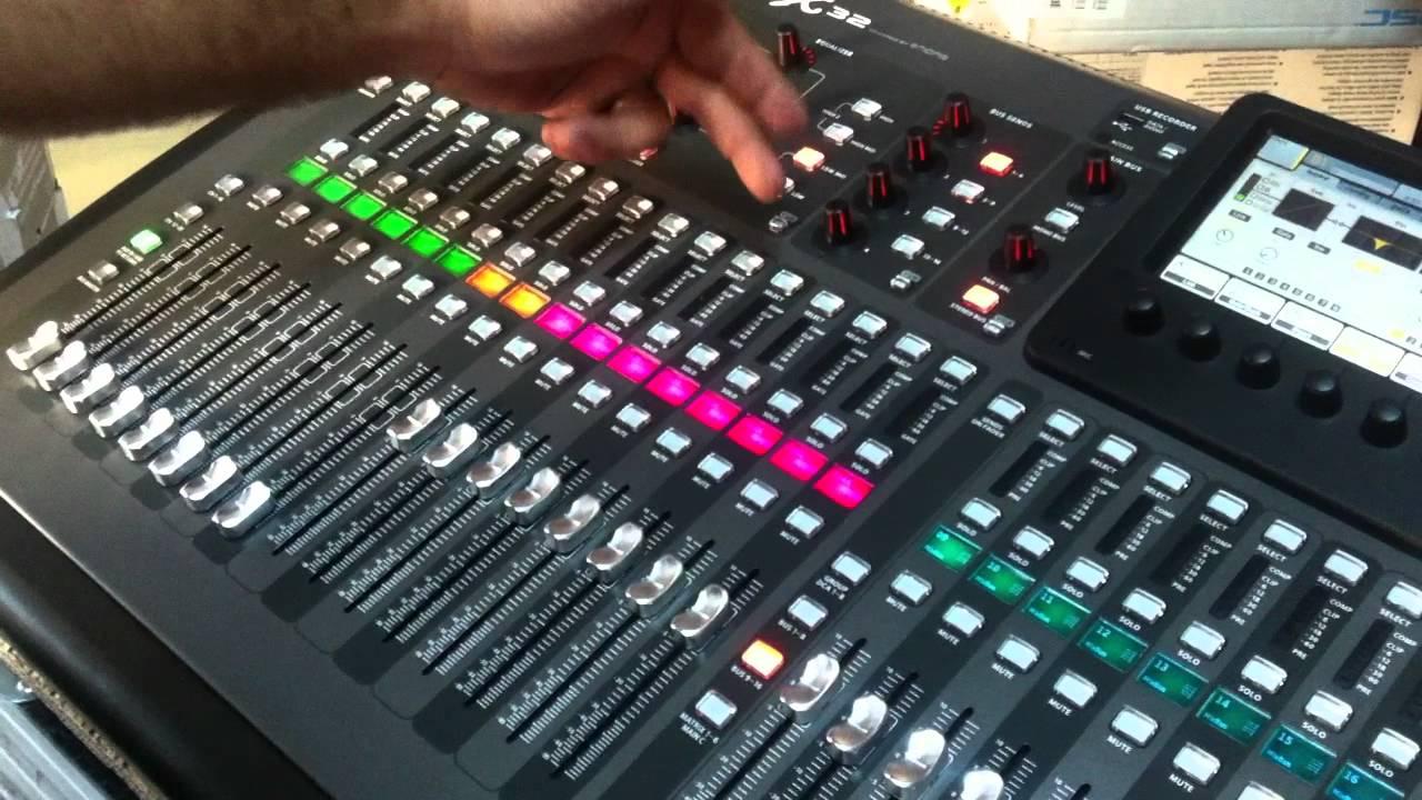 Bati Muzik Market Behringer Digital Mixer X32 T 252 Rk 231 E