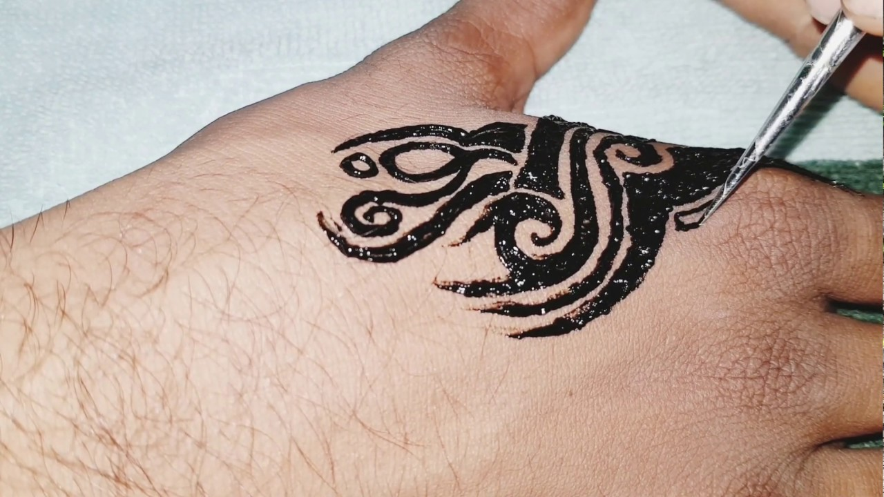 Gents Mehndi Boys Mehndi Design Mens Tattos With Black Mehndi Boys Mehndi