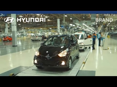 Hyundai Manufacturing Plant India