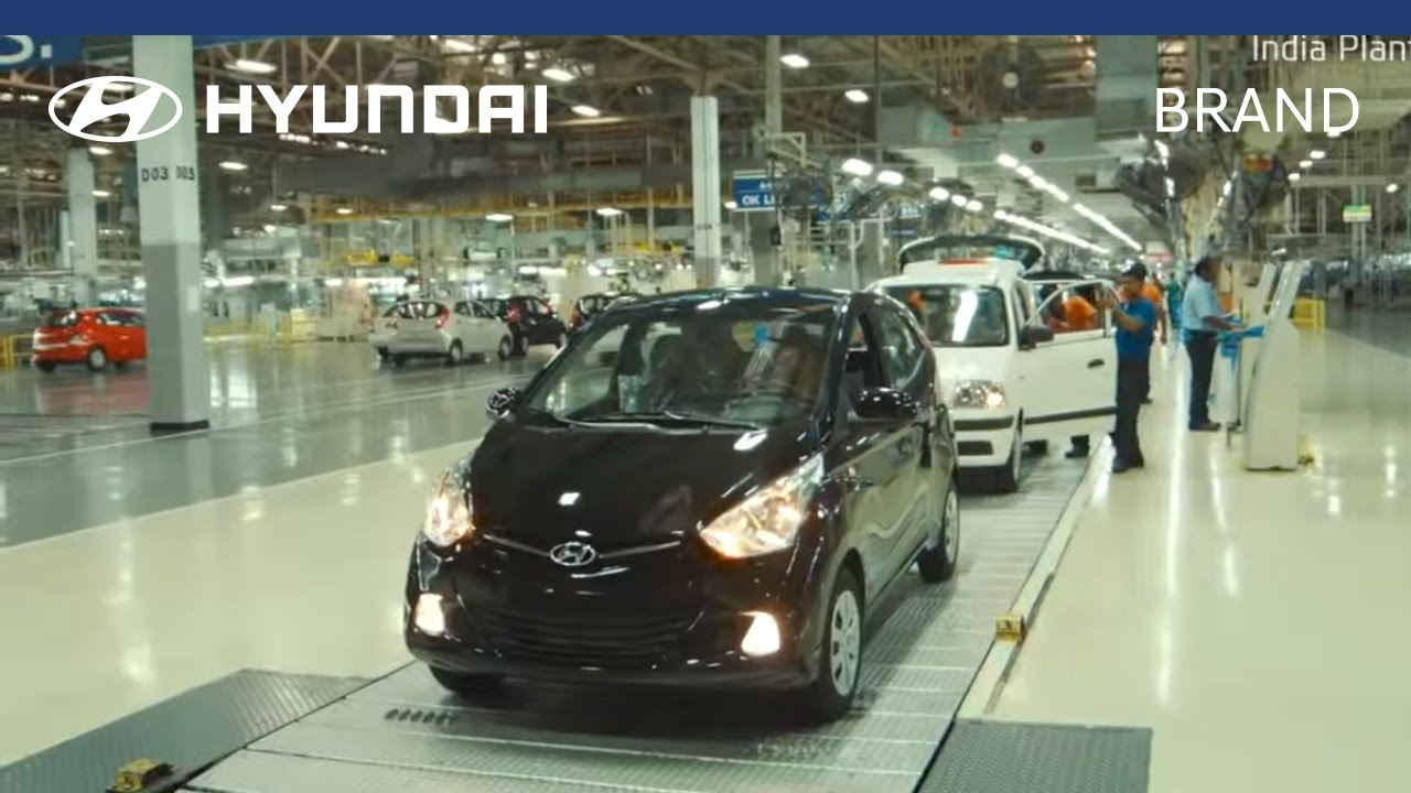 Hyundai Manufacturing Plant India Youtube