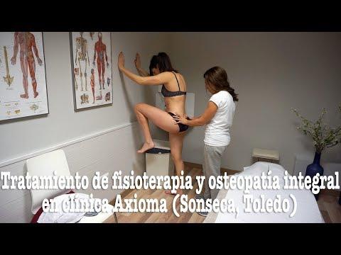 Tratamiento de fisioterapia y osteopatía integral en clínica Axioma (Sonseca, Toledo)