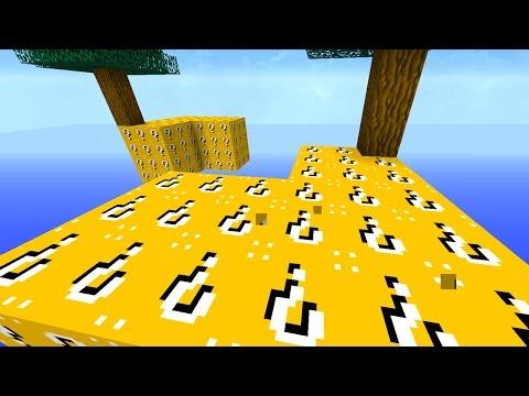 Minecraft 1v1v1v1 LUCKY BLOCK SKY BLOCK WARRIORS! #2 | (Minecraft Mods)