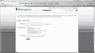 How to Create Your Personal Learning Space Wiki
