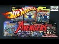 Opening Hot Wheels Avengers cars NEW 2018 SERIES!!!