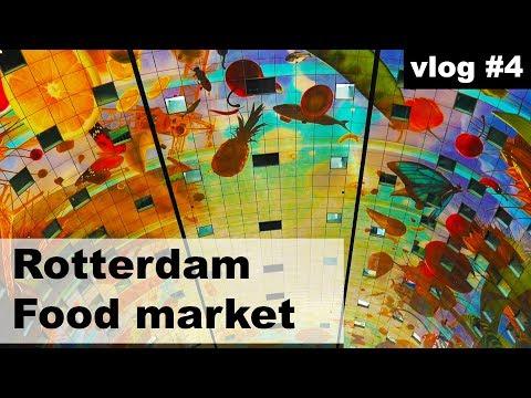 #vlog1.4 Rotterdam, Netherlands - Historical Tram 10 FAIL, food market fun at Markthal