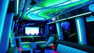 Party Bus Limousine by Star Limousines - Luxury 16 seater