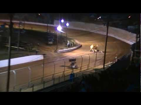 Port Royal Speedway 410 Sprint Car Highlights 4-10-10