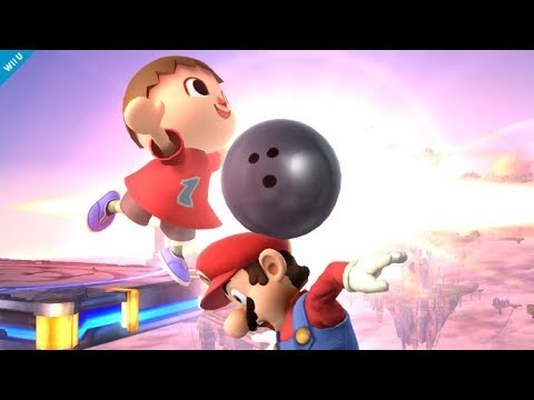 Top 10 Most Hype Villager Plays - Super Smash Bros for Wii U