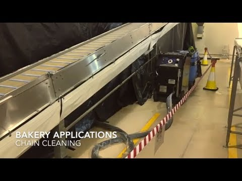Cold Jet - Food Industry - Bakery Cleaning Applications