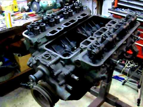 1955 Buick Century 322 Nailhead Engine Youtube