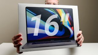 New 16-Inch MacBook Pro Unboxing vs 15-Inch! Testing Apple's Claims