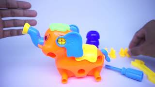 Elephant Assembly For Kids With ABC Song