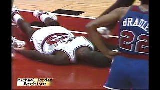 Michael Jordan's Career Almost Ends in his NBA Debut!