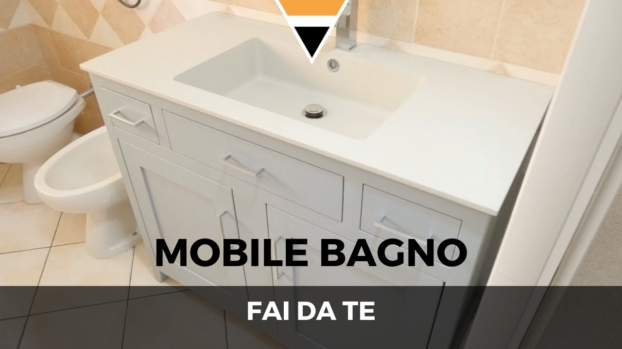 Come Costruire Un Mobile Da Bagno.Fai Da Te Mobile Bagno Youtube