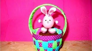 Canasta Para Huevos Manualidades.Manualidades Souvenir Canastita Baby Huevos De Pascua By