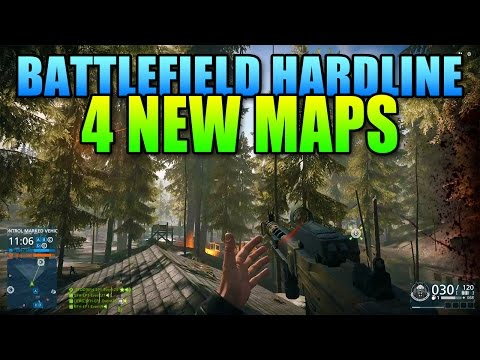 First Look Criminal Activity Maps! | Battlefield Hardline DLC