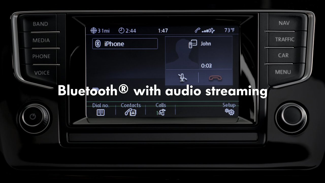 2015 volkswagen golf - bluetooth™ with audio streaming - youtube