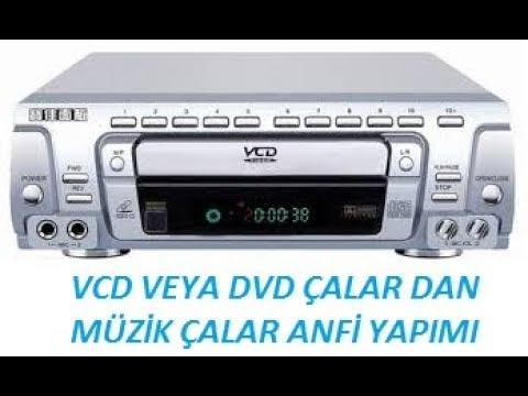 Eski VCD Çaları ses sistemine çevirdik.