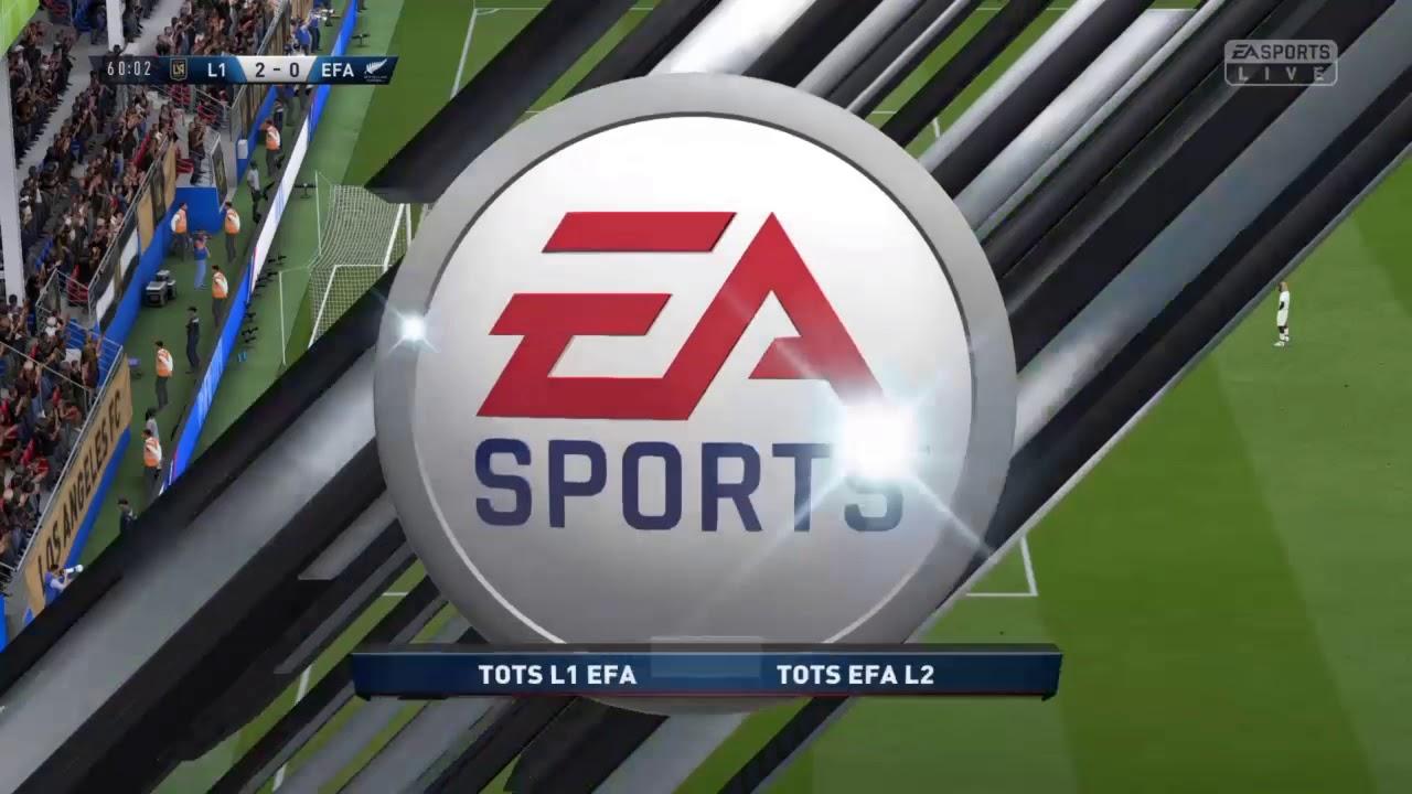 TOTSHOW EFA EDITION II PS4 : MANCHE 1 / Ligue 1 vs Ligue 2 !