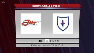JHT - Hokki 05.10.2018 maalikooste
