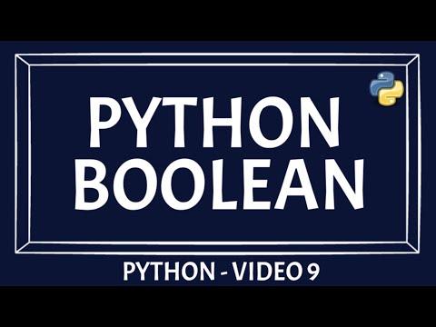Python Data Type | Boolean | Part 5 | Beginners Guide [PYTHON TUTORIAL]