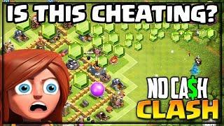 Did I CHEAT? Clash of Clans No Cash Clash Episode 10!