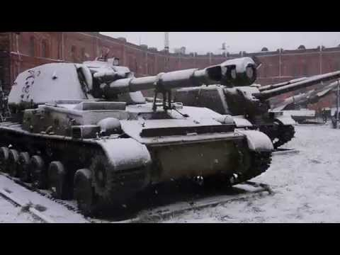 T80 and other tanks and hardware at the Artillery museum in St Petersburg