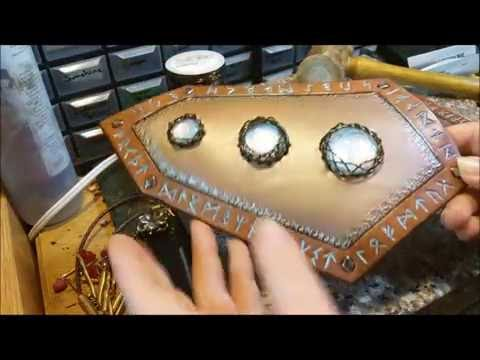 How to Fractal Wrap on Leather