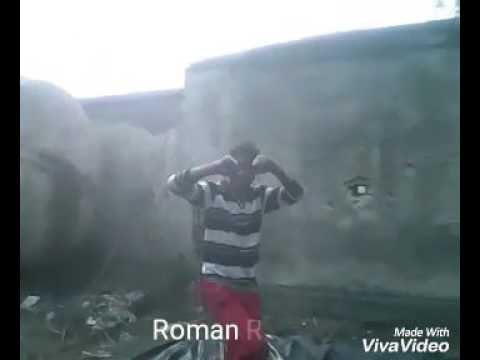 Slum boys wrestling
