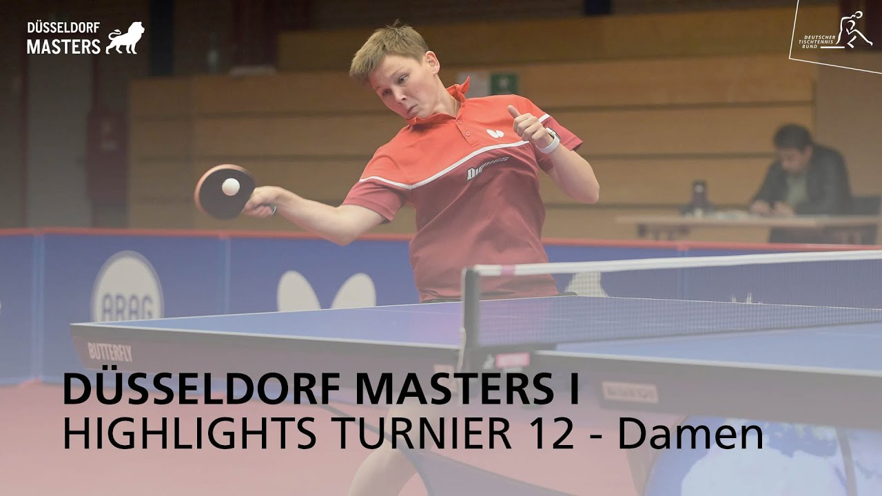 Düsseldorf Masters I Highlights Turnier 12 - Damen