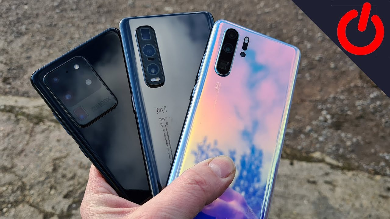 Oppo Find X2 Pro Vs Galaxy S20 Ultra And Huawei P30 Pro Blind Camera Test Youtube