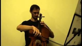 1° Vídeo tocando Sonata in C Major, Rondo grazioso - J. B. Breval