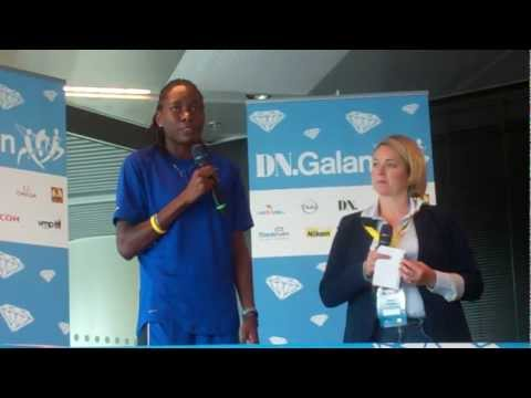Olympic Champion Brittney Reese Before 2012 DN Galan Diamond League Meet