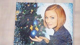 Смотреть видео Подарок на Новый Год 2019. Портреты на заказ в Москве онлайн