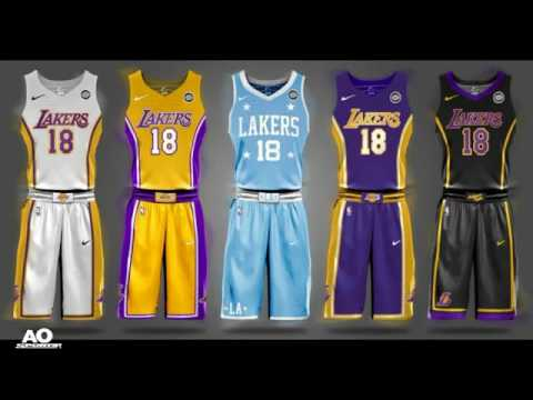 6a6a1dc8a6a All NBA Nike Jersey s For 2017-2018 Season! - YouTube