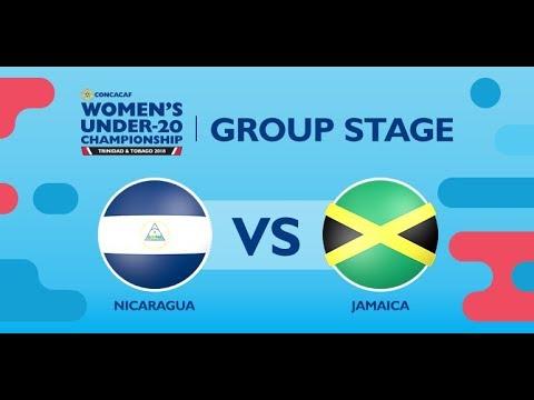 CU20W: Nicaragua vs. Jamaica