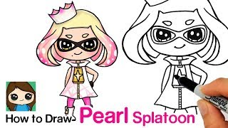 How to Draw Pearl from Splatoon