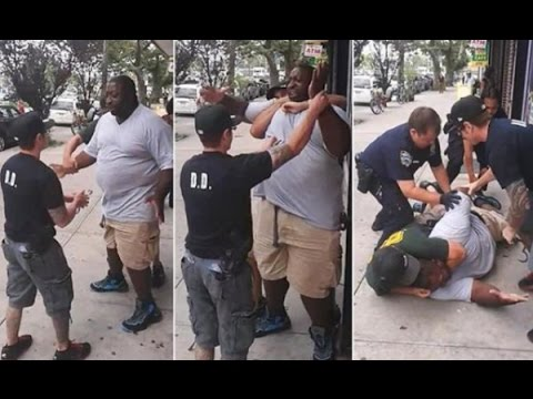 Police Kill Staten Island Man, Eric Garner, in a Brutal Choke Hold. Welcome to the WAR! #TMS