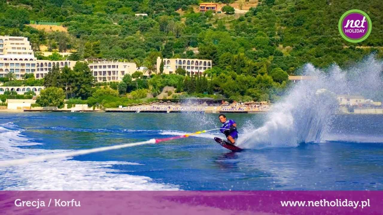 Hotel Marbella Beach 5 Grecja Korfu Netholiday Pl Youtube
