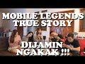 Lagu KOMPILASI Mp3 LUCU ML   MOBILE LEGENDS WTF TRUE STORY BY KELVIN ALFIANDO Mp3