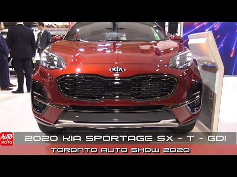 2020 KIA Sportage SX-T-GDI - Exterior And Interior - Toronto Auto Show 2020