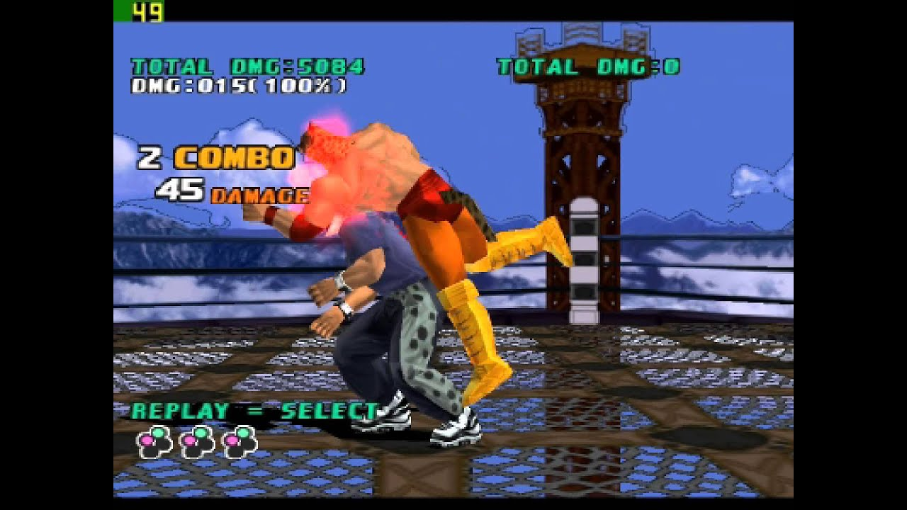 Tekken 3 King - Combos s strategies
