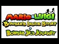 The Wind Is Blowing At Cavi Cape B - Mario And Luigi: Bowser's Inside Story (3DS) Music Extended