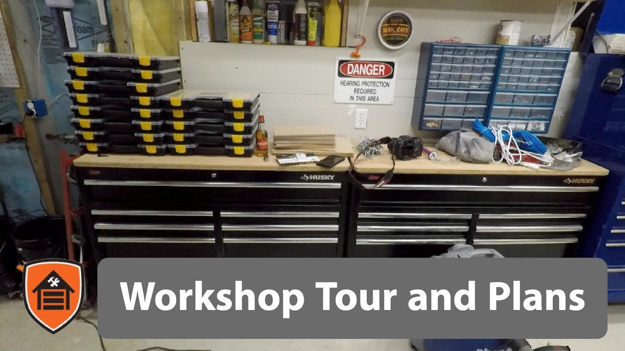 The Workshop - Ep1: Tour of my small basement workshop and future plans for  it