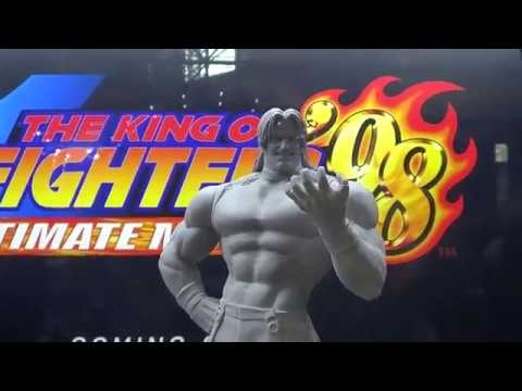 King of Fighter 1998 Rugal Statue by Storm Collectible at NYCC 2017