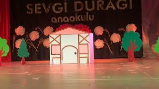 2018 Sevgi Durağı Anaokulu Yıl Sonu Gösterisi - Pamuk Prenses Ve Yedi Cüceler