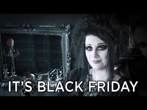 The Goth Queen of YouTube | It's Black Friday (Coalcandy interview)