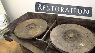 machine like a turntable Restoration | Antique Tool Restoration