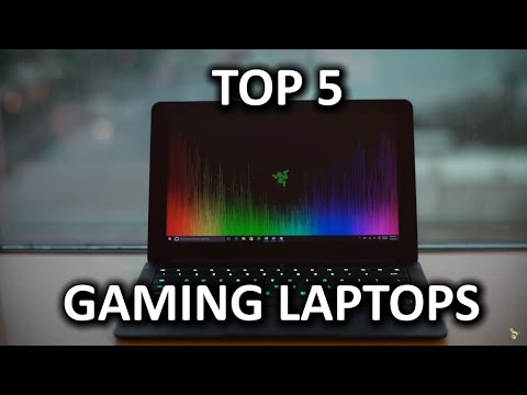 Top 5 Intel Gaming Laptops - CES 2016